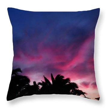 Throw Pillow featuring the photograph Sunrise - Alba by Zedi