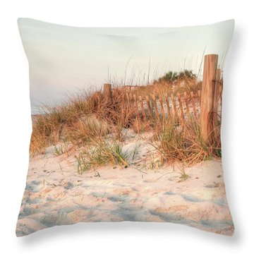 Dawn At 82nd Throw Pillow