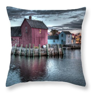 Dawn At Motif Number 1 Throw Pillow