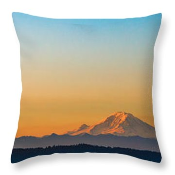 Dawn Breaks Throw Pillow