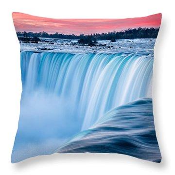 Dawn Flow Throw Pillow