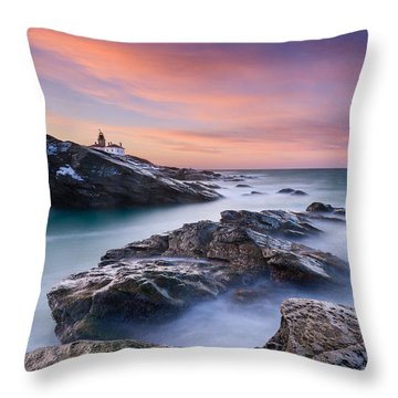 Dawn Glory Throw Pillow