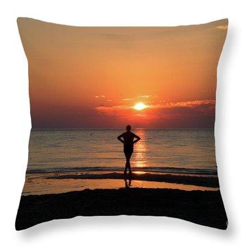 Dawn II Throw Pillow