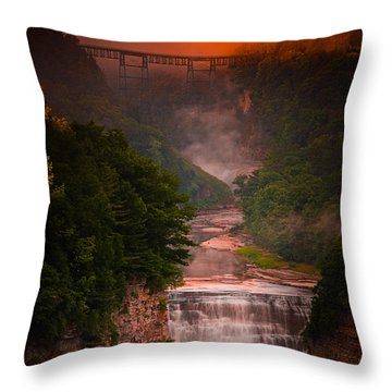 Dawn Inspiration Throw Pillow