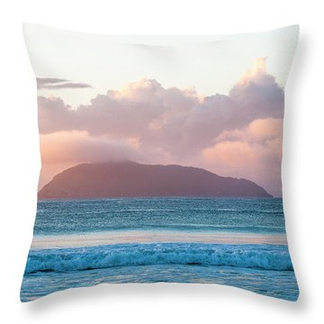 Dawn Throw Pillow by Lana Enderle