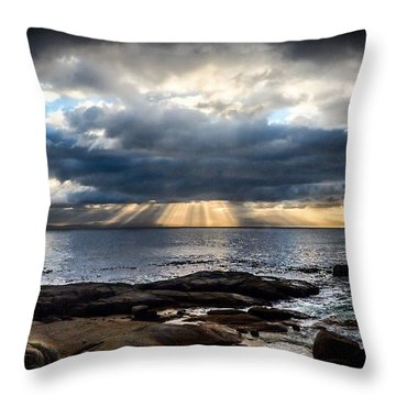 Dawn Light Throw Pillow