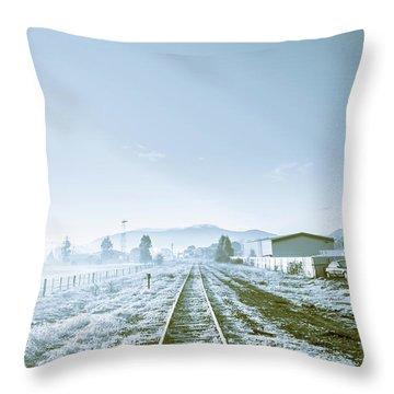 Dawn Line Throw Pillow