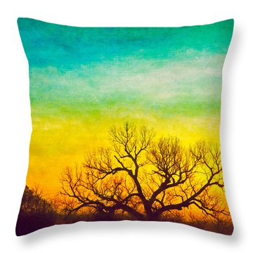 Dawn Magnitude Throw Pillow