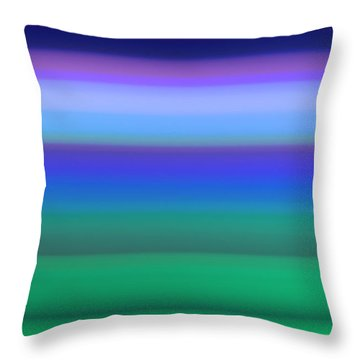 Dawn Meadow Throw Pillow