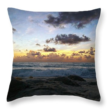 Dawn Of A New Day 141a Throw Pillow by Ricardos Creations