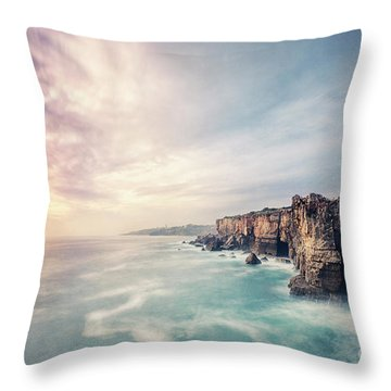 Dawn Of The Night Throw Pillow