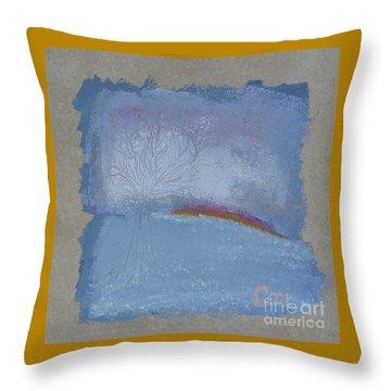 Dawn Of Winter Throw Pillow