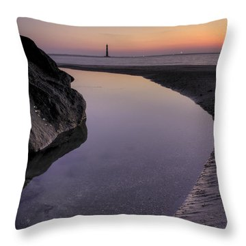 Dawn Reflections Throw Pillow by Dustin K Ryan