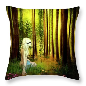 Dawn Refresh Throw Pillow by Svetlana Sewell