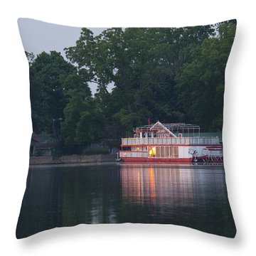 Dawn-st. Joseph River Throw Pillow