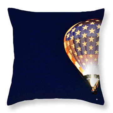 Throw Pillow featuring the photograph Dawns Early Light by AJ Schibig