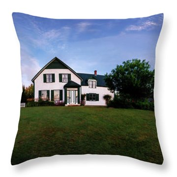 Throw Pillow featuring the photograph Dawns First Light At Green Gables by Chris Bordeleau