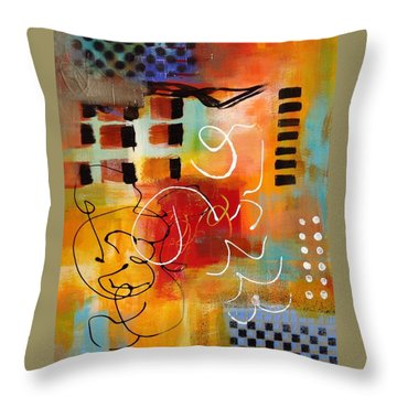 Day 3...30 In 30 Challenge Throw Pillow by Suzzanna Frank