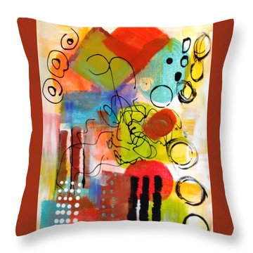 Day 4...30 In 30 Challenge Throw Pillow by Suzzanna Frank