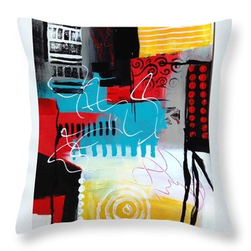 Day 7...30 In 30 Challenge  Throw Pillow by Suzzanna Frank