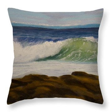 Day After The Storm Throw Pillow