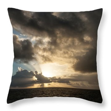 Day Break Throw Pillow by Allen Carroll