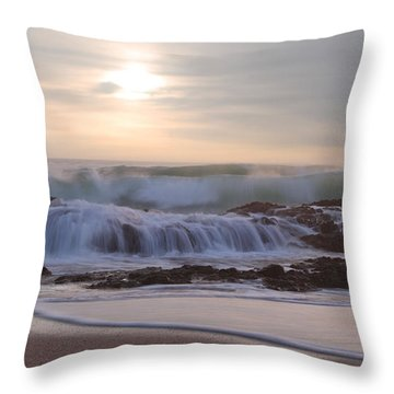 Day Break Paradise Throw Pillow
