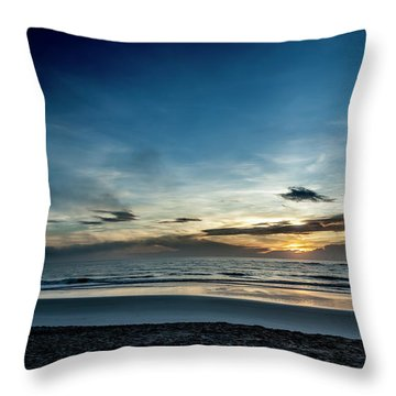 Throw Pillow featuring the photograph Day Breaker by Eric Christopher Jackson
