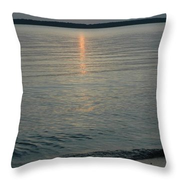 Day Done Throw Pillow