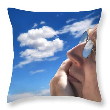 Day Dreamer Throw Pillow by Gary Warnimont