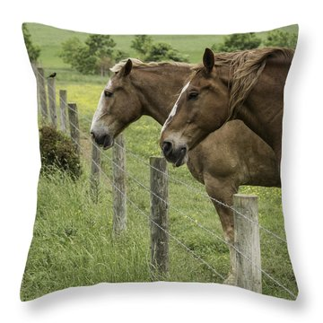 Day Dreamers Throw Pillow