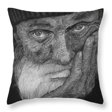 Mr. Mike Throw Pillow