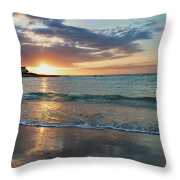 Day Is Done Throw Pillow