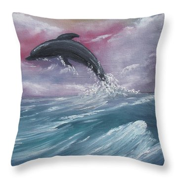 Day Of Play Throw Pillow