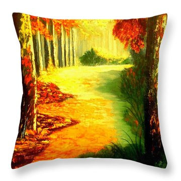 Day Of Rest Throw Pillow