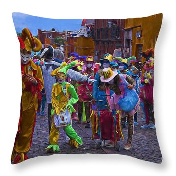 Day Of The Crazies 2013 Throw Pillow