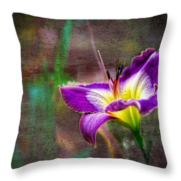 Day Of The Lily Throw Pillow