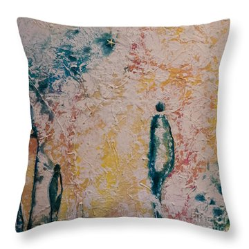 Day Out Throw Pillow by Gallery Messina