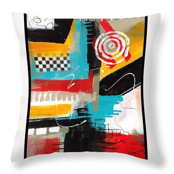Day Six...30 In 30 Challenge  Throw Pillow by Suzzanna Frank