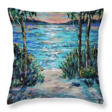 Day To Night Throw Pillow