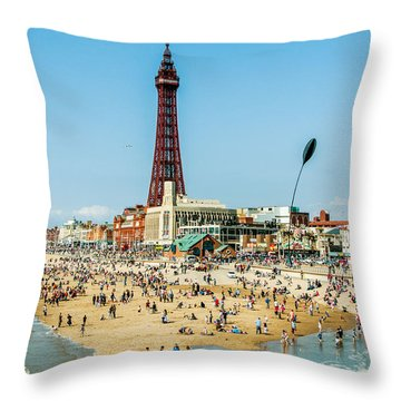 Day Trippers Throw Pillow