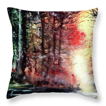 Daybreak 2 Throw Pillow