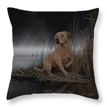 Daybreak Arrival Throw Pillow