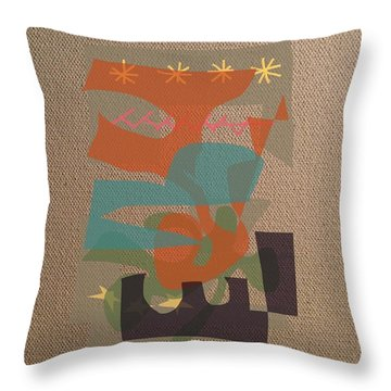 Throw Pillow featuring the digital art Daybreak by Clyde Semler