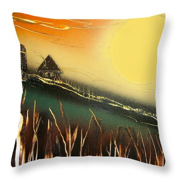 Daybreak Throw Pillow
