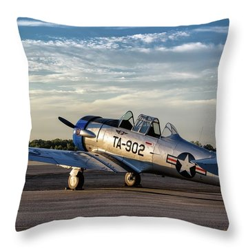 Daybreak On The Lt-6 Throw Pillow
