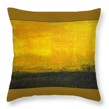 Daybreak Throw Pillow by Scott Haley