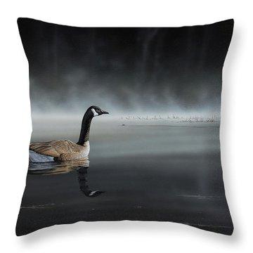 Daybreak Sentry Throw Pillow