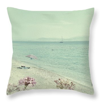 Daydream Throw Pillow by Connie Handscomb