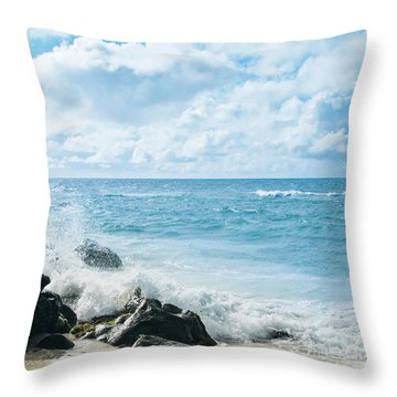 Throw Pillow featuring the photograph Daydream by Sharon Mau